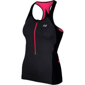 Zone3 Performance Culture Tri Top Donna, marl/grey/black/coral